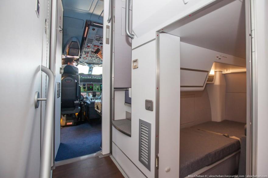 Самый лучший интерьер самолета Airbus A380