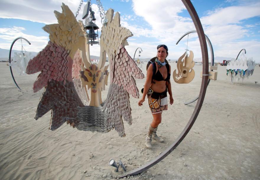 Фестиваль «Горящий человек 2016» в Неваде