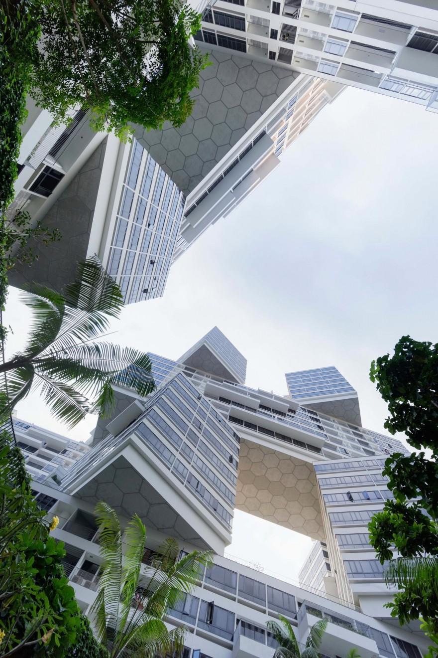 Жилой комплекс в Сингапуре