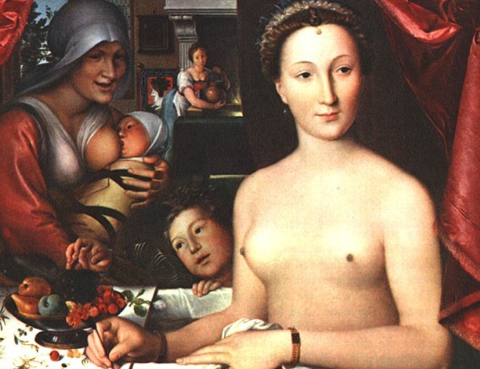 Золото на завтрак и на обед: рецепты красоты от Дианы де Пуатье – фаворитки короля Генриха II