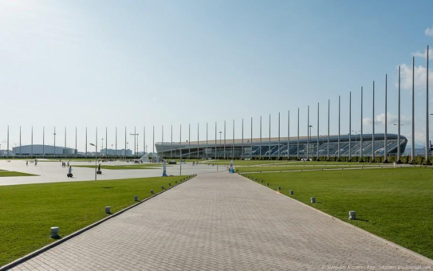 Прогулка по олимпийскому парку в Сочи