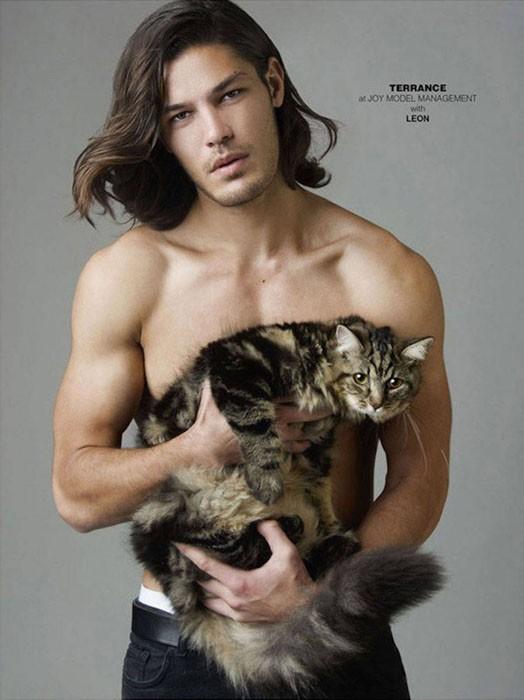 Pussy Riot: красавчики-модели и их очаровательные кошки