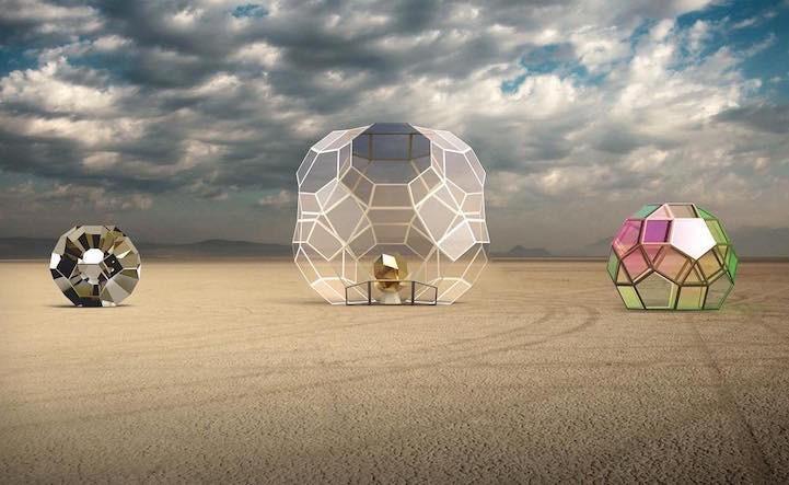 Самые впечатляющие арт-инсталляции фестиваля Burning Man 2016