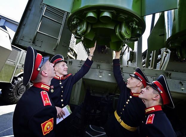 Военный форум Армия 2016 в фотографиях