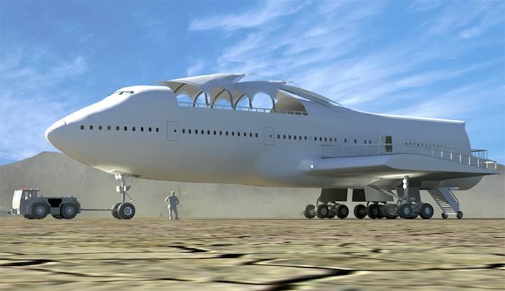 Cтарый самолёт Boeing переоборудовали в гигантский арт-автомобиль для фестиваля Burning Man