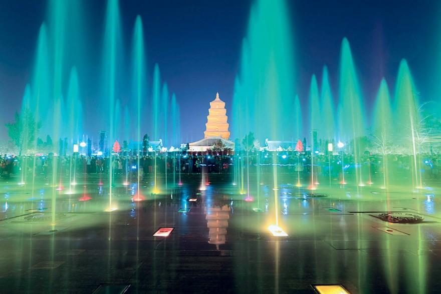 Невероятные и красивые фонтаны в мире
