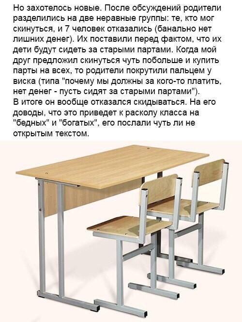 Школьный эксперимент (4 фото)