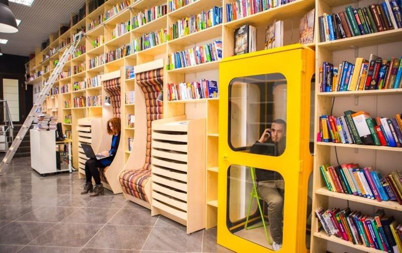 Читать книги – это модно! Бесплатная библиотека в Санкт-Петербурге, которая способна удивить