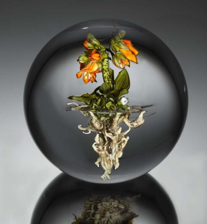 Кусочек природы в стекле