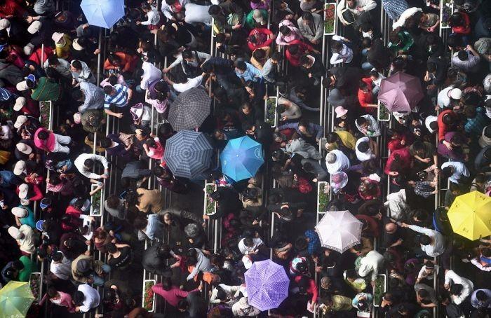 Будни китайских городов (21 фото + видео)