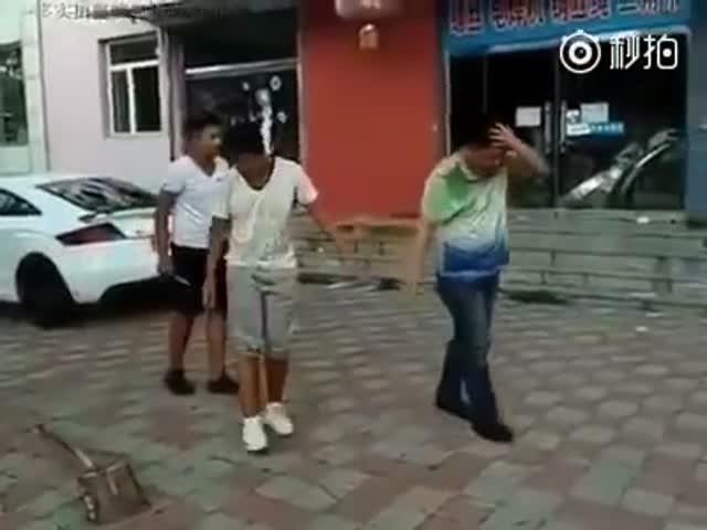 Шутник наказал самого себя