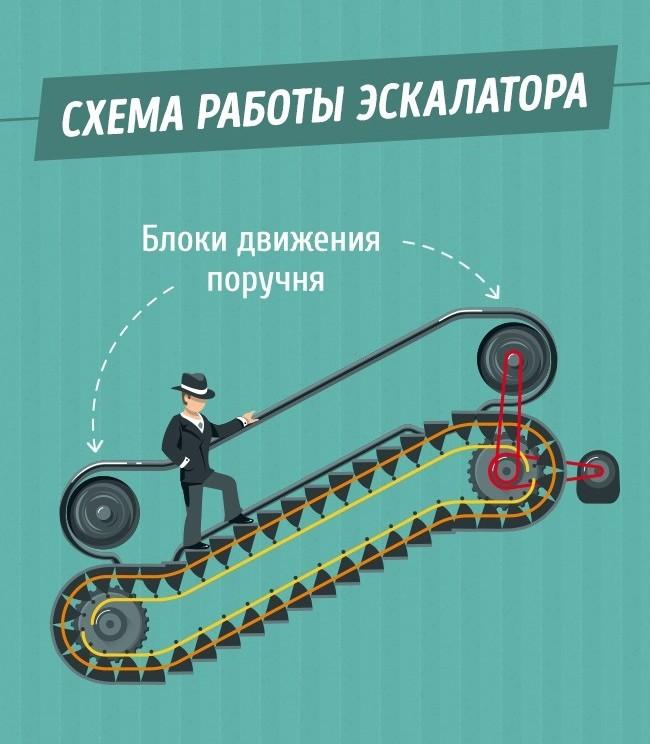 Так вот почему поручни в метро едут быстрее эскалатора