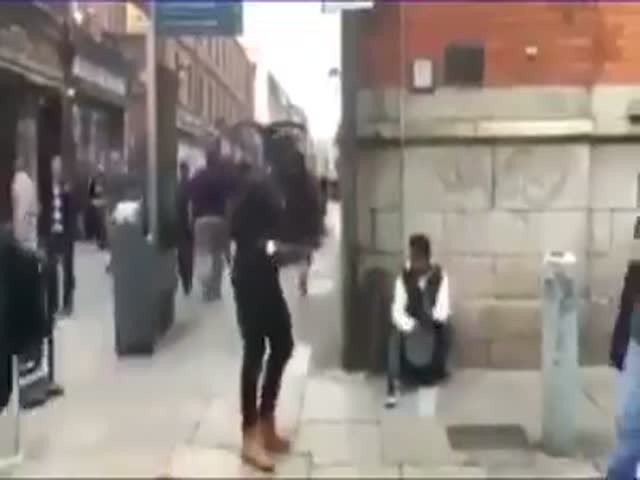 Танец с очень неожиданной концовкой