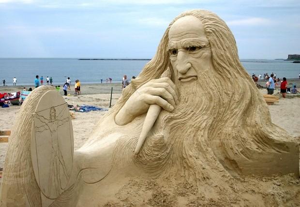 Удивительные скульптуры из песка, которые поразят даже самое изощренное воображение