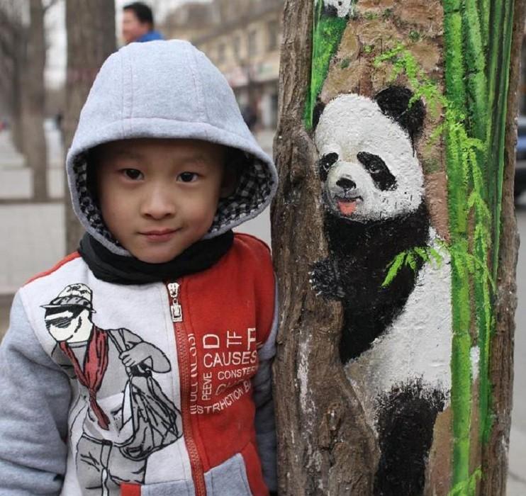 Необычное увлечение талантливой китаянки Ван Юэ