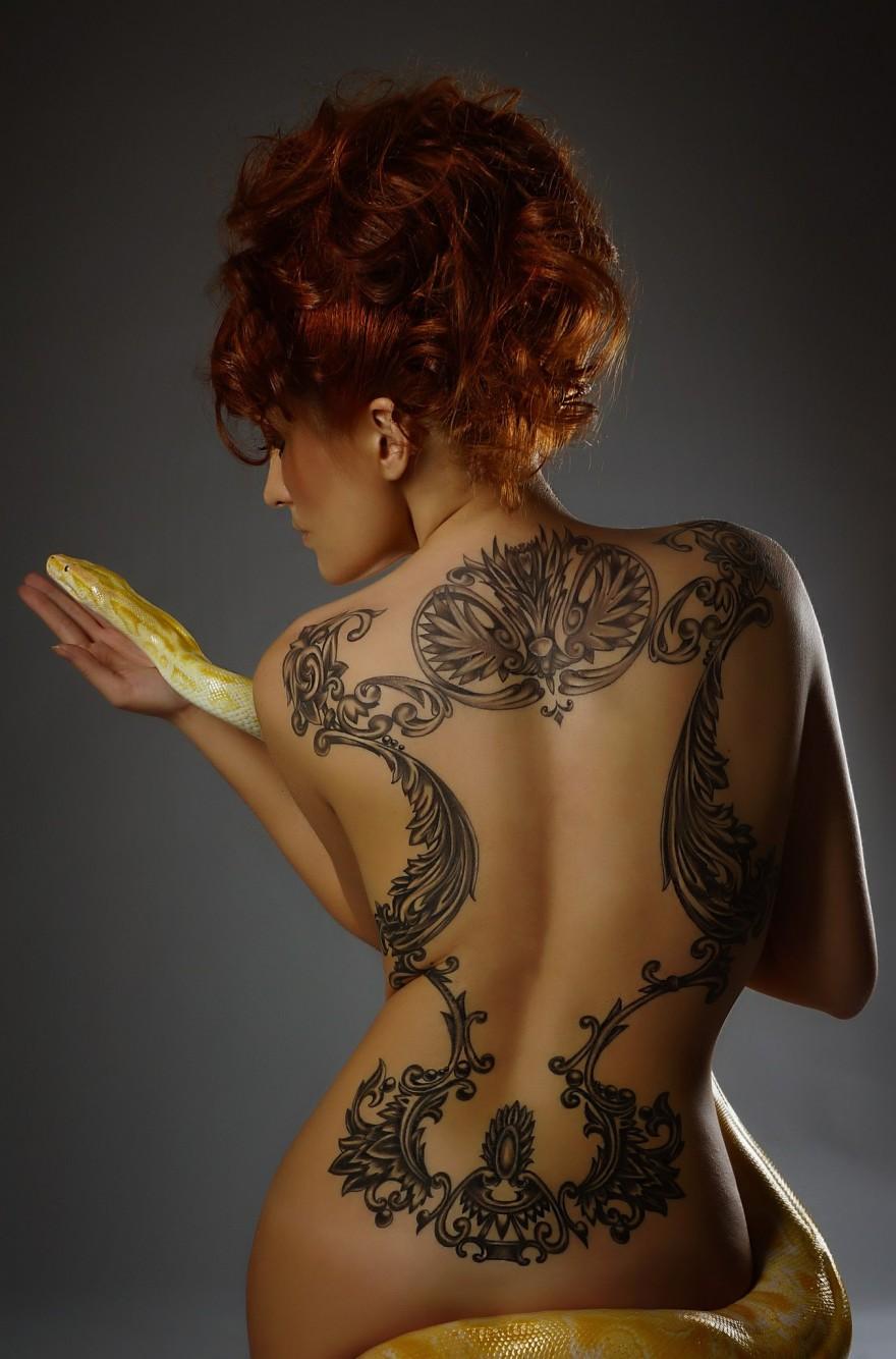 Красивейшие татуировки на женском теле