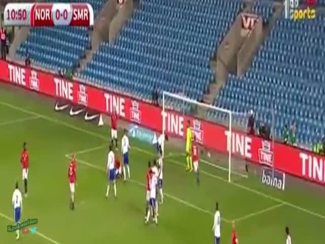 Сборная Сан-Марино по футболу забила первый гол за 15 лет