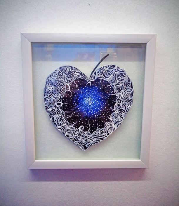 Шедевры на листьях: романтические картины влюблённой пары художников из Грузии