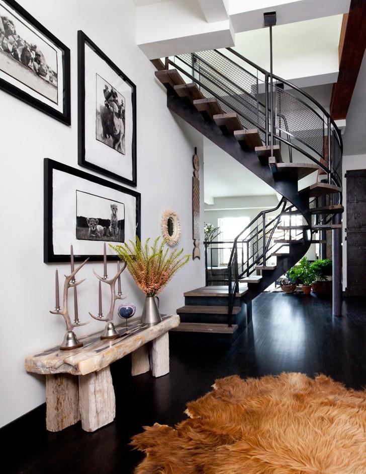 Современные апартаменты. Интересный дизайн