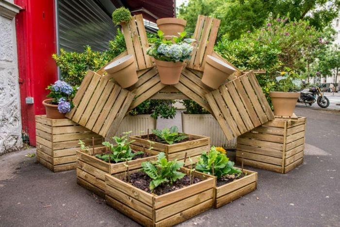В Париже начнут поддерживать развитие частных городских садов (6 фото)