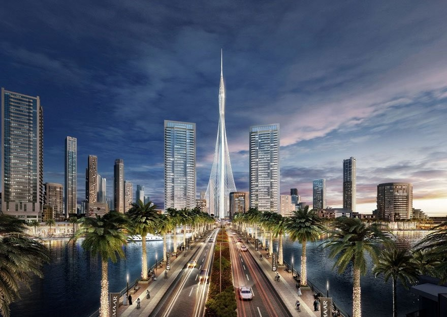 В Дубае началось строительство самой высокой в мире «Башни»
