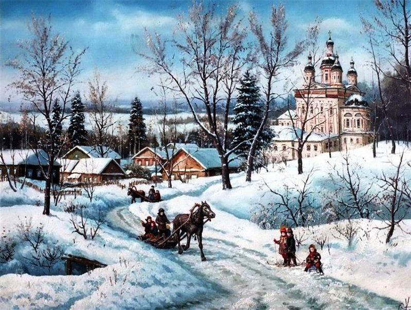 Русская Зима!