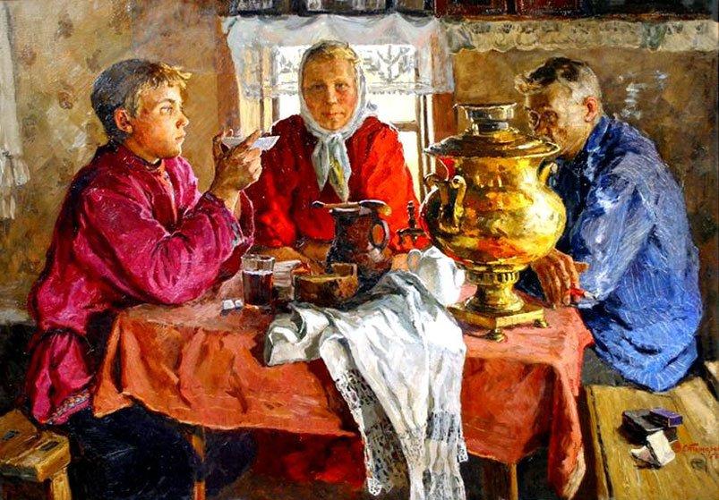 Питание наших предков. Г.А. Сидоров.