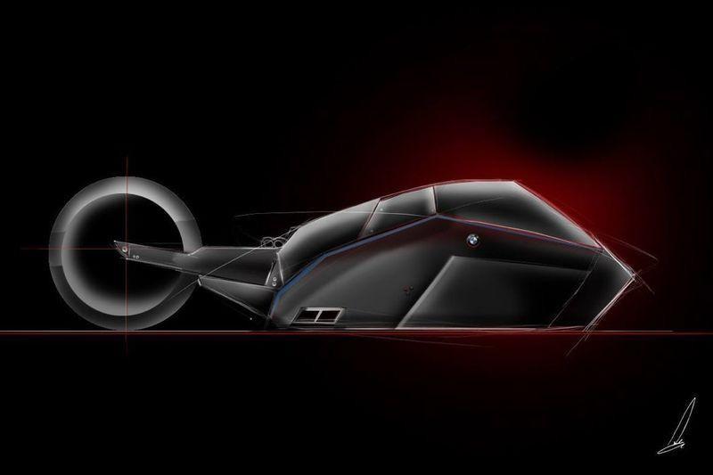 Геометрический и аэродинамический дизайн BMW Titan