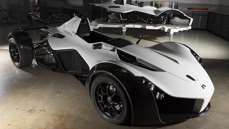 Одноместный суперкар BAC Mono