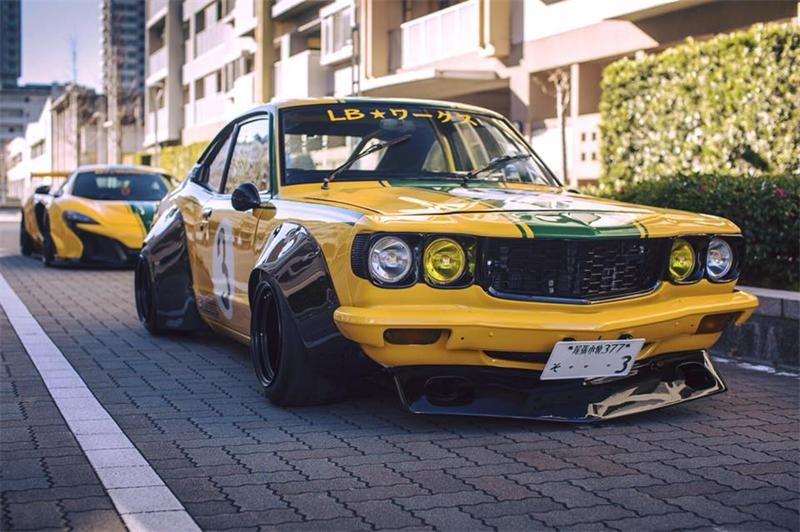 Mazda RX-3 основателя Liberty Walk