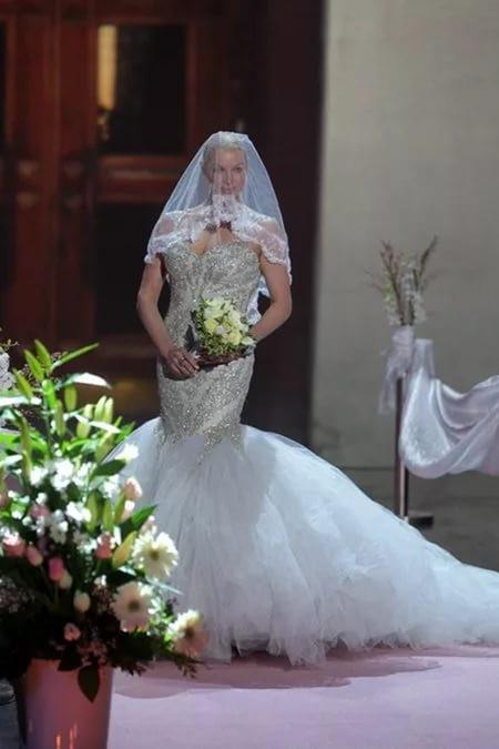 Сшить свадебное платье как у Волочковой для каждой маленькой девочки