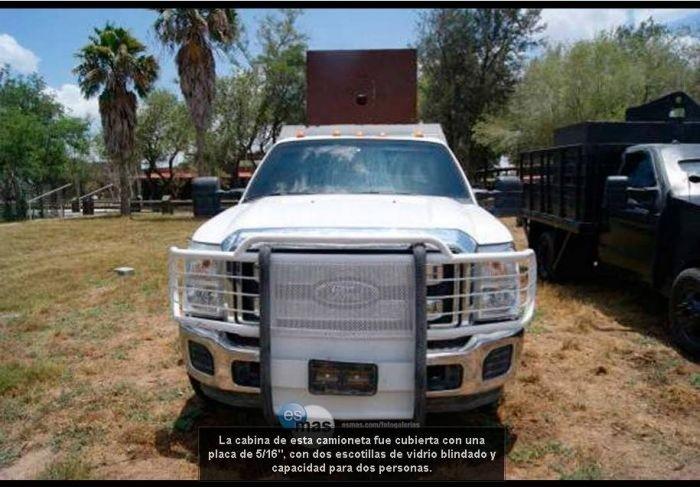 Броневики мексиканских наркокартелей (30 фото)