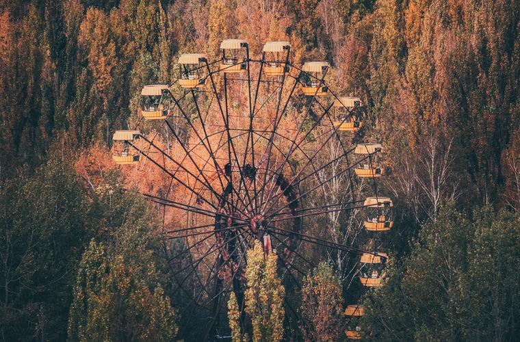 В Припяте заработало чертово колесо (1 фото + видео)