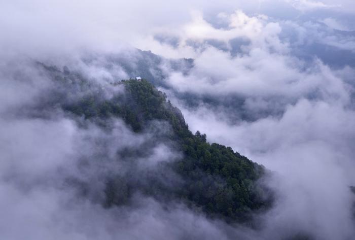 Грузия с высоты птичьего полета (20 фото)