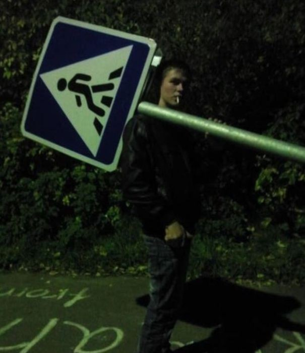 Ночь - время странных поступков (22 фото)