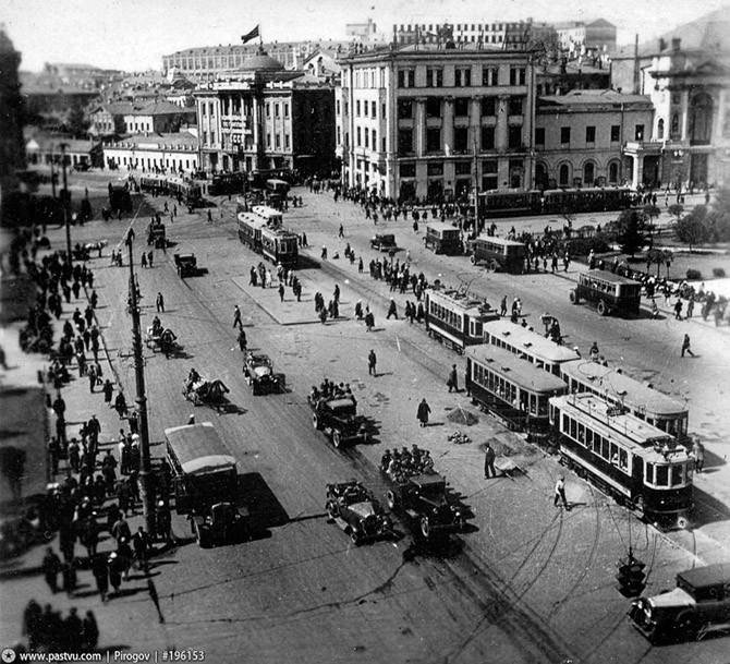 Прогулка по старой Москве (18 фото)