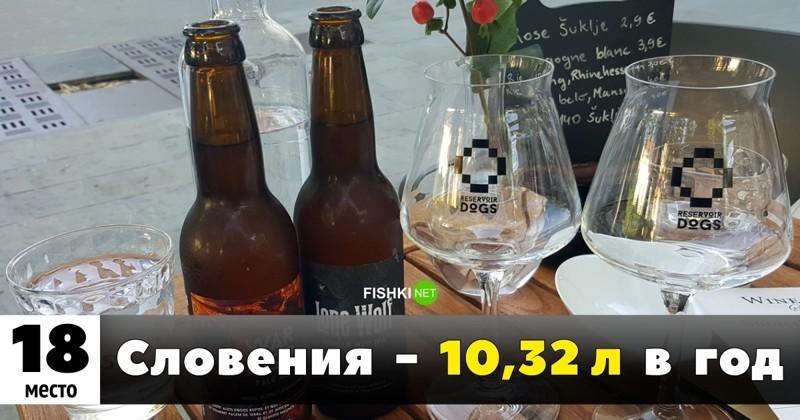 Кто больше пьёт? Топ-25 самых пьющих стран мира(26 фото)