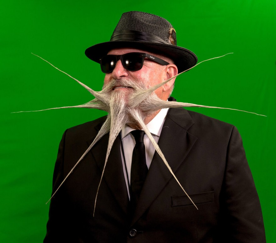 В США прошёл мировой чемпионат бород и усов (15 фото)