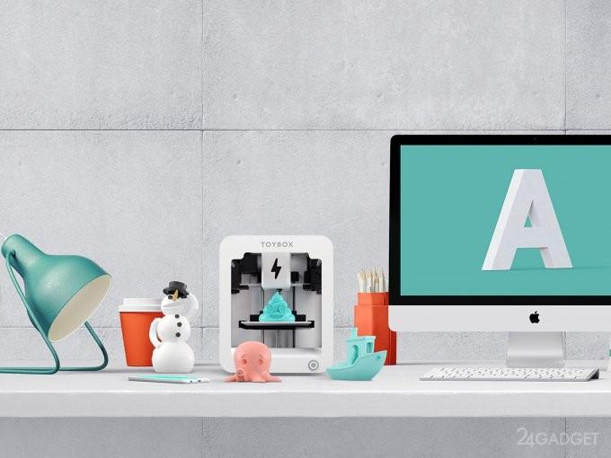 Детский 3D-принтер для печати игрушек (7 фото + видео)