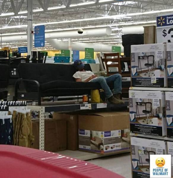 Странные посетители американских супермаркетов (34 фото)
