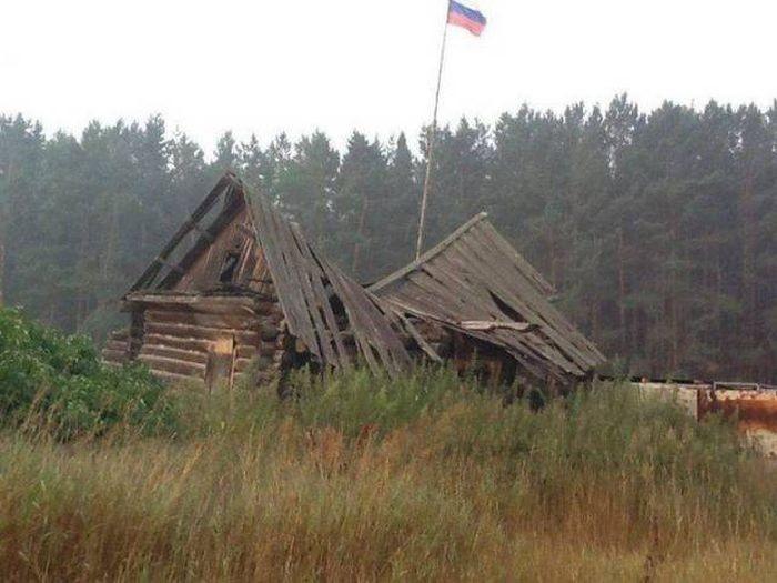 Снимки, которые можно было сделать только в России (37 фото)