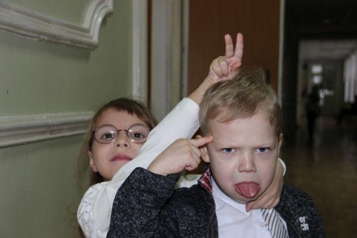 Забавные детские снимки (41 фото)
