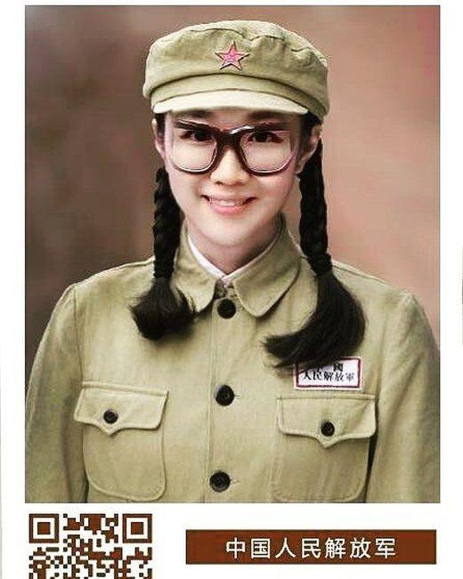 Девушки армии Китая (12 фото)