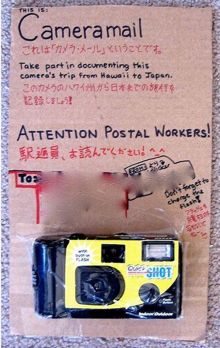 Почтовая служба на западе (20 фото)