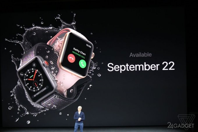 Apple Watch Series 3 — умные часы с поддержкой LTE (18 фото + видео)