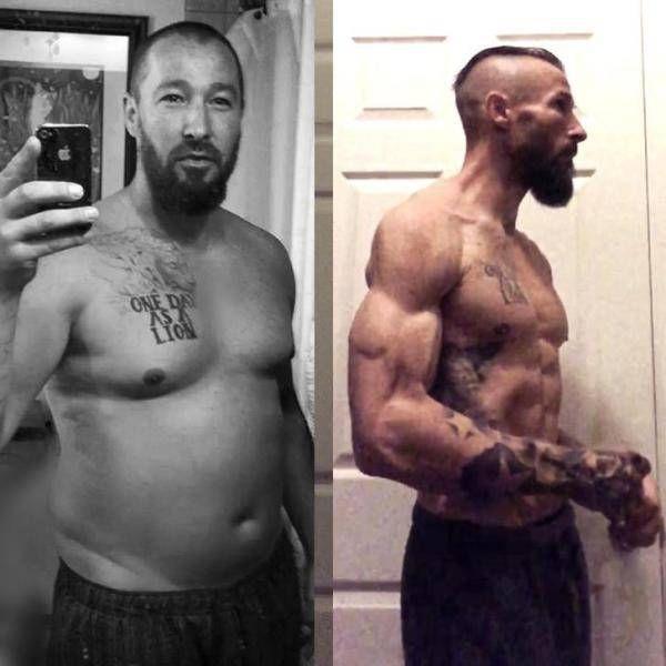 Мужчина похудел на 30 кг и занялся ММА, чтобы пережить развод (5 фото)