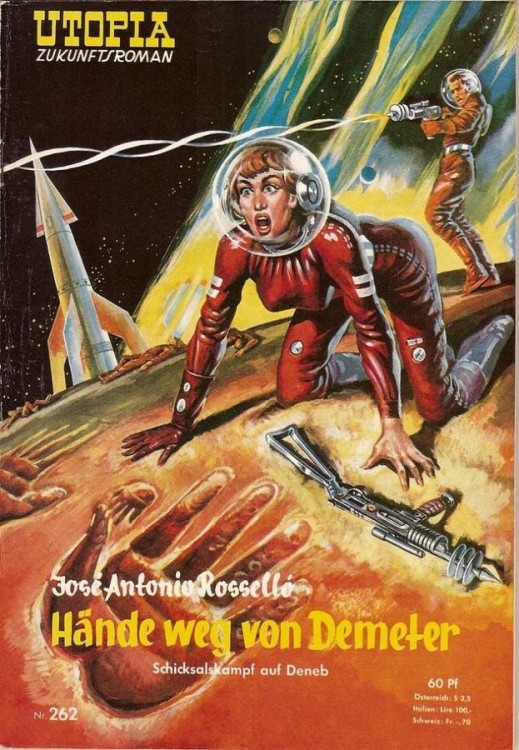 Обложки американских фантастических и приключенческих журналов (35 фото)