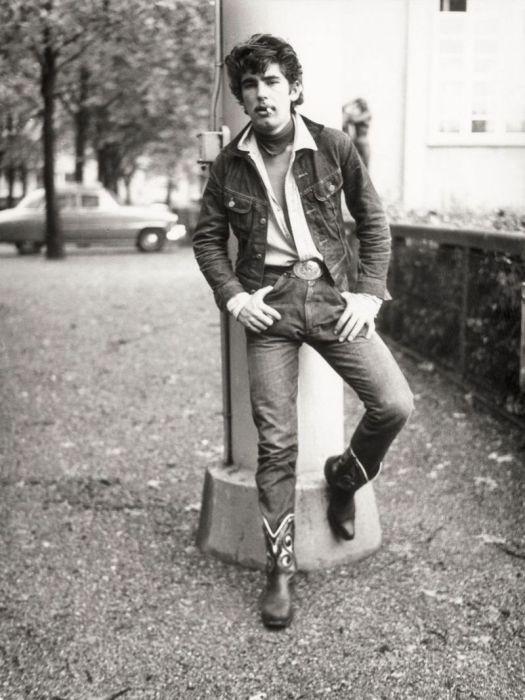 Хальбастарке - молодежная субкультура Швейцарии в 50 - 60 годы (24 фото)