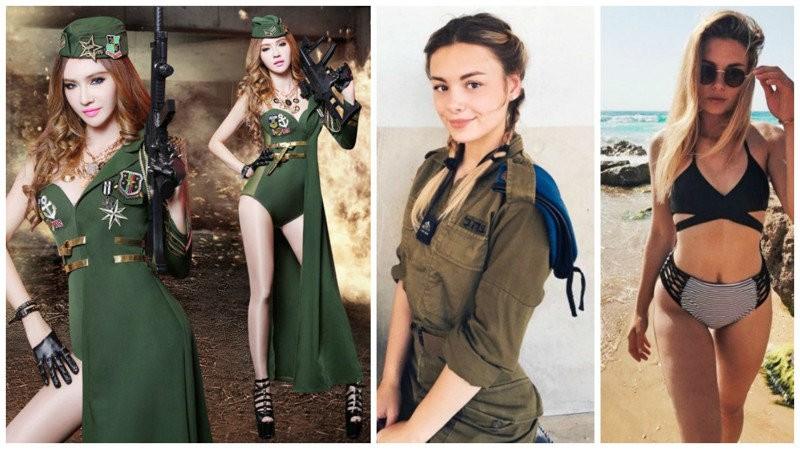 Девушки-военнослужащие без камуфляжа и автомата (24 фото)