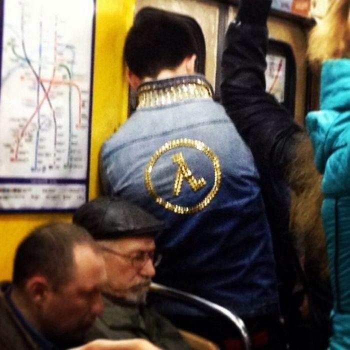 Модные пассажиры метро (31 фото)